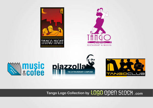 free vector Tango Logo Collection
