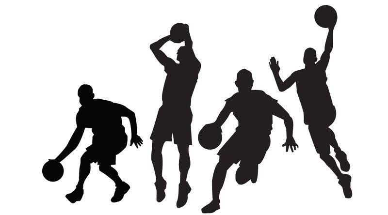free vector Basketball Players Vectors