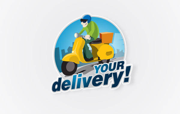 free vector Delivery Logo