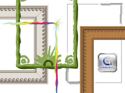 free vector Photo Frames, Creative Borders in Vector