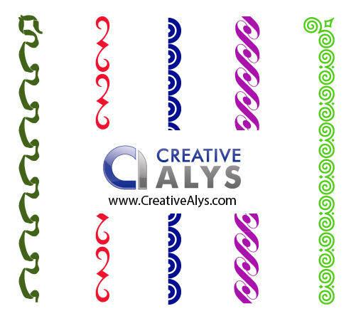 free vector Creative Border Vectors, Frames, and Corner Vectors