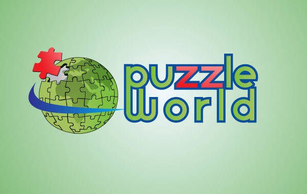 free vector Puzzle World