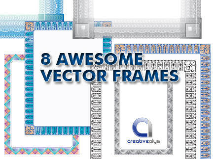 8 Awesome Vector Frames