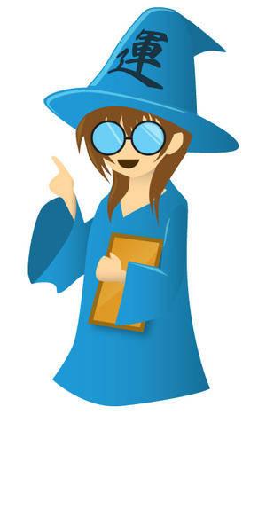 Wizard (manga style)