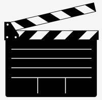 free vector Clapper Board Vector for Movie or Film