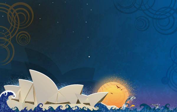 free vector Sydney Opera House Theatre