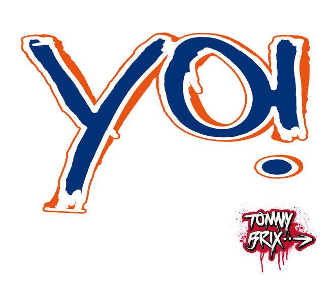 free vector YO! - design Tommy Brix
