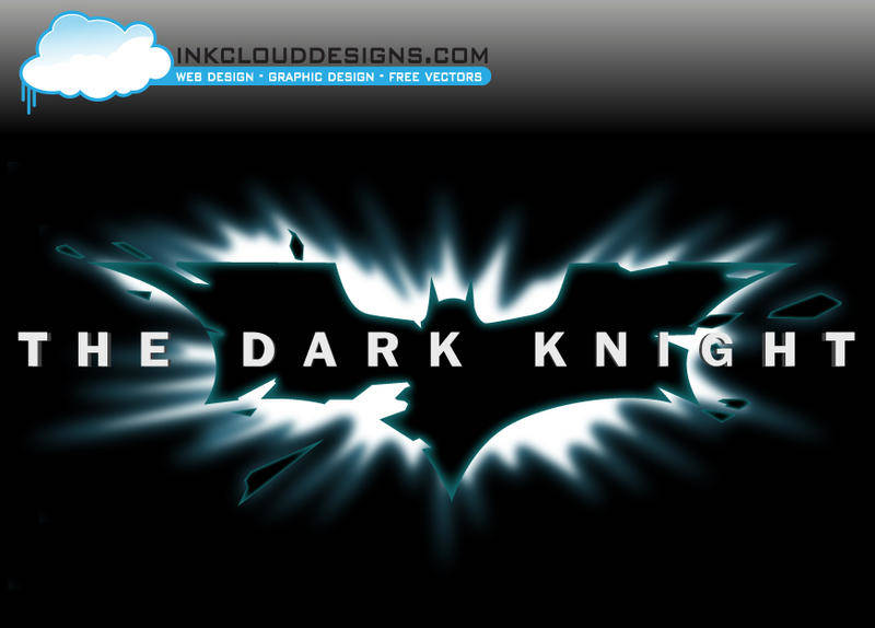 free vector Dark Knight Logo