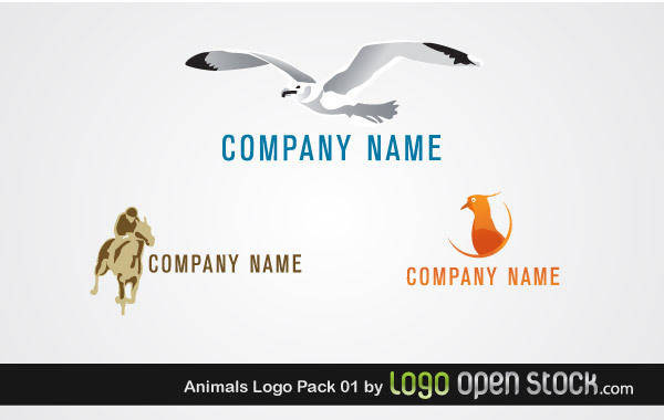 free vector Animal Logo Pack 01