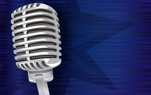 free vector Vintage Microphone