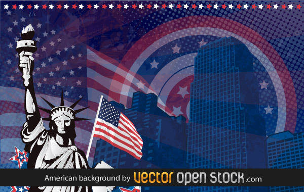 American Background 131295