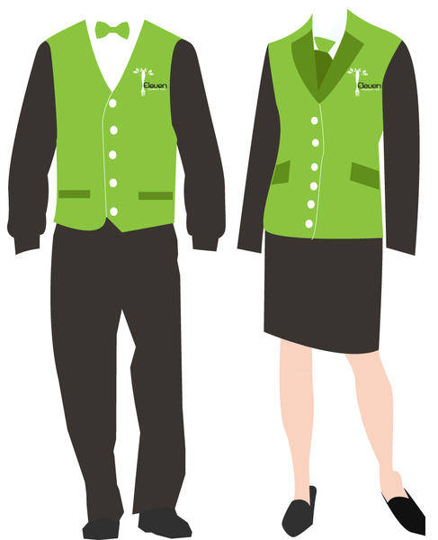 free vector Staff Uniform Vectors