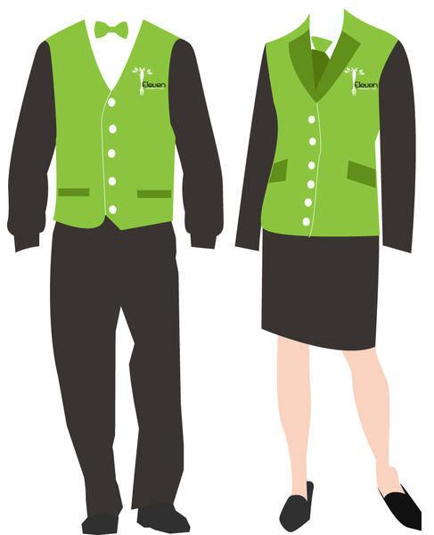 Staff Uniform Vectors