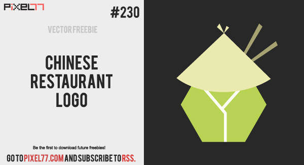 Chinese Restaurant Logo Vector - Free Vector of the Day #230