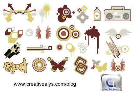 free vector Logo Design Elements