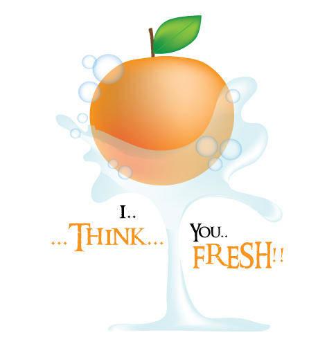 free vector Orange Vector Art
