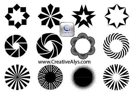 free vector Creative Objects for Logo, Web & Graphic Designs