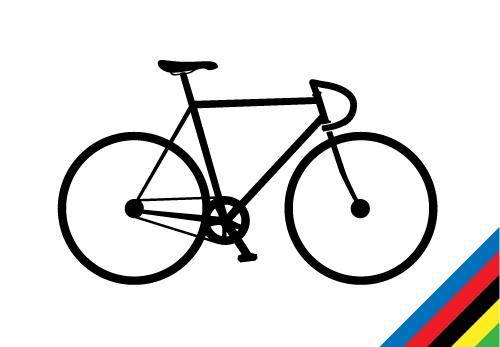 free vector Track Bike