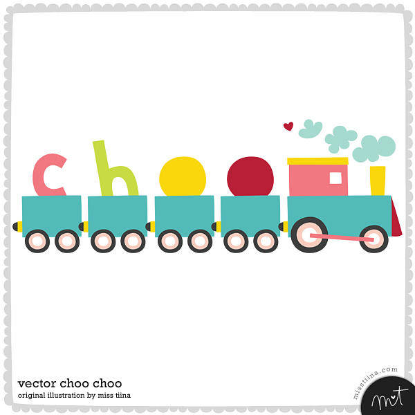 free vector Free Vector Choo Choo Train