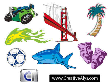 free vector Creative Graphics for Logo Designs