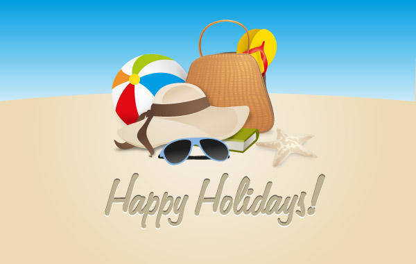 free vector Happy Holidays