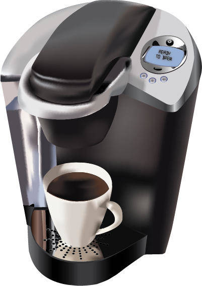 free vector Coffee Maker Vector