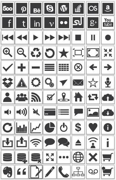 96 Vector Icons