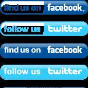 Simple Facebook and Twitter Buttons 131436