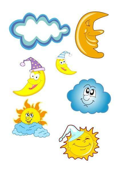 free vector Sun Vector and Moon Vector Pack