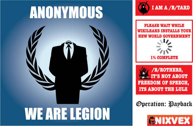 free vector NixVex Anonymous Free Vectors