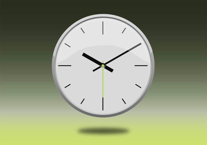 free vector Reloj   Clock