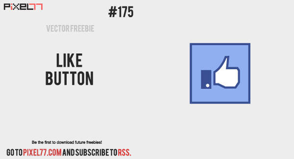 free vector Free Vector of the Day #175: Like Button