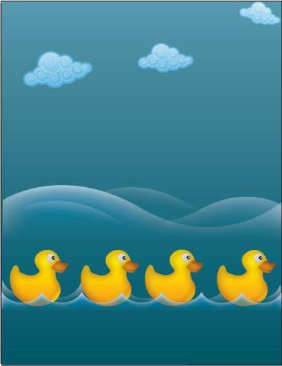 Water ducks 131491