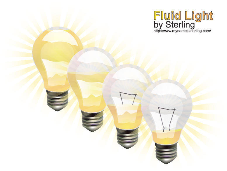free vector Vector Light Bulbs