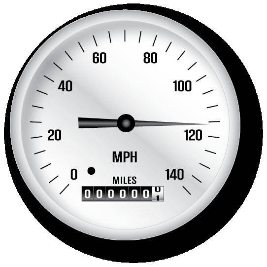 free vector Classic Speedometer