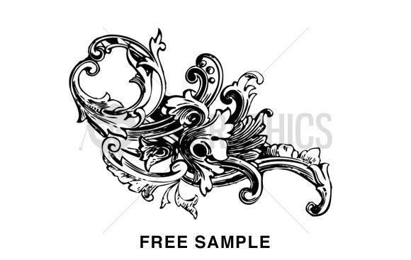 free vector Ornament Vector Baroque Pack Vol1