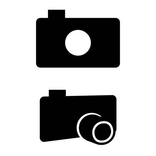 free vector Photograph camera icon