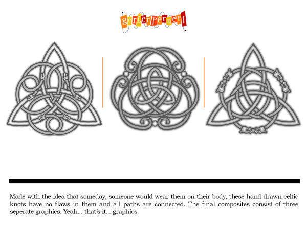 free vector Celtic Tattoo Designs
