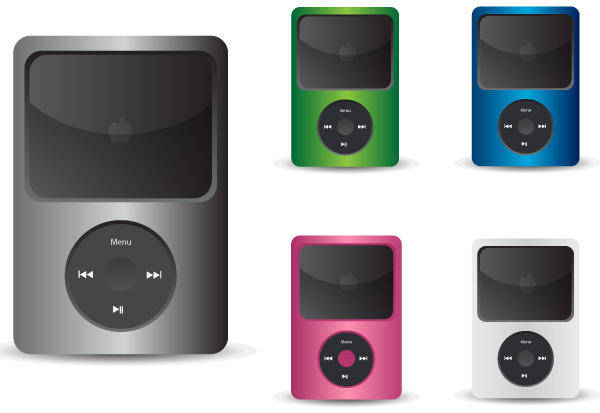 Free IPod Vector Icons
