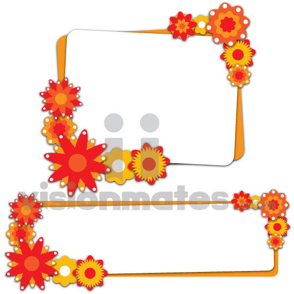free vector Flowers Banners Vector