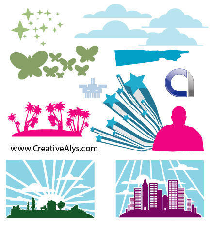 free vector Elements for Logo, Web & Graphic Design