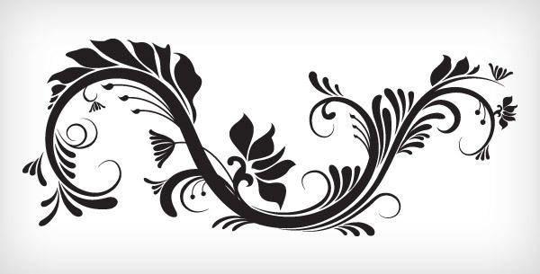 Decorative Vector Ornament 131581