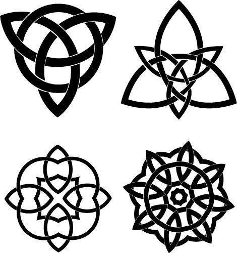 free vector Celtic Knots Vector Set