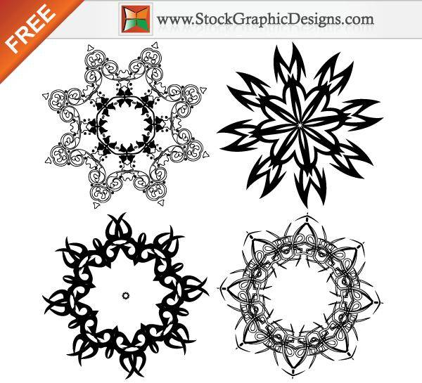 Free Vector Image of Decorative Design Elements