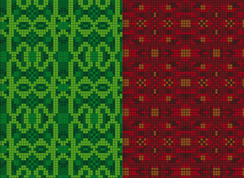free vector Fabric tissue kilt red green from Scotland