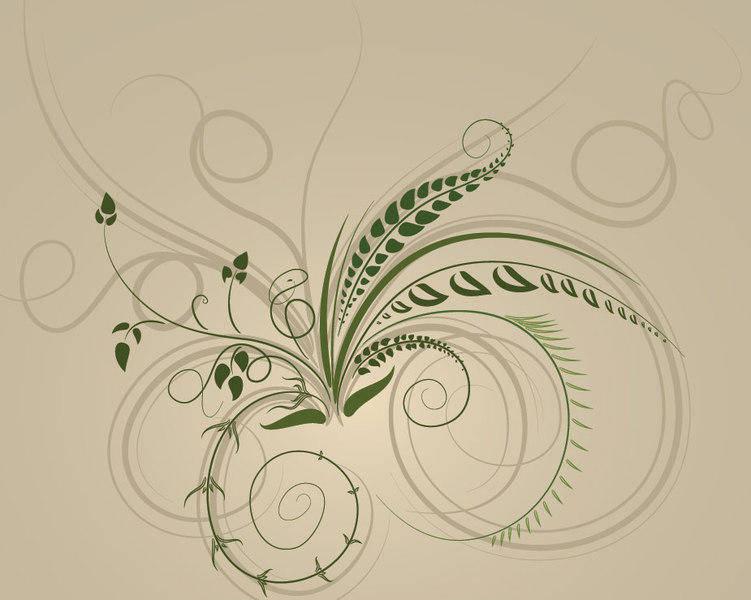 free vector Swirls Brushes