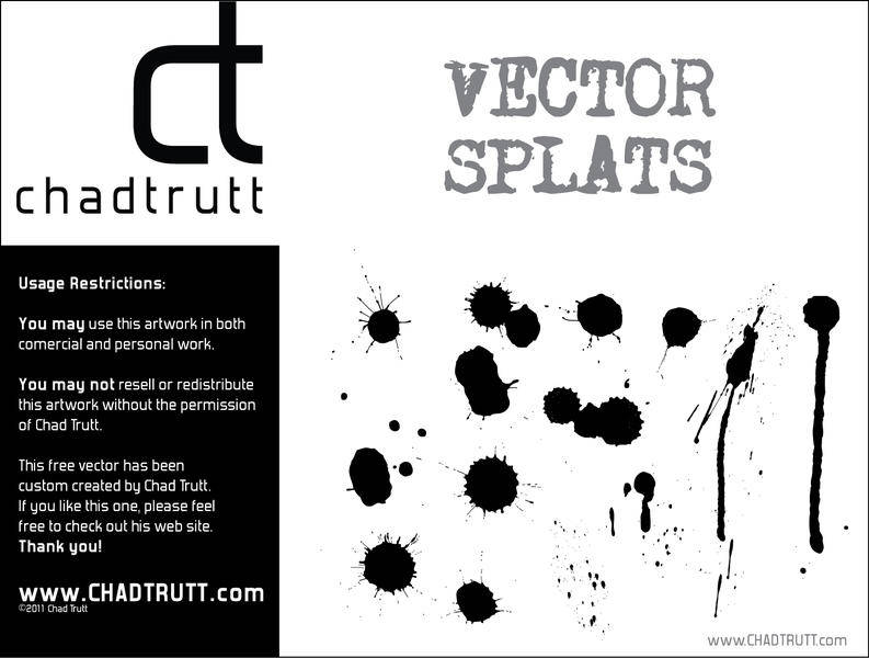 free vector Splats