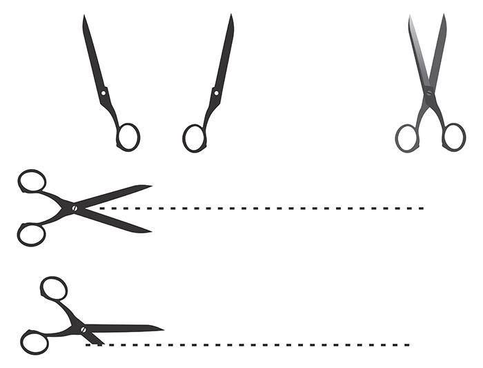 free vector Cutting Edge Scissor Vectors