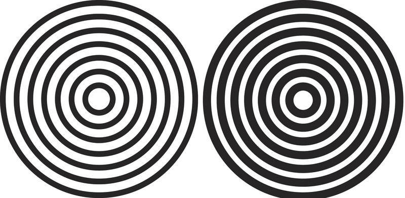 free vector Círculos Concéntricos- Concentric Circles Vectors -Yahuali Nahuak