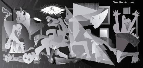free vector Pablo Picasso (Obra - La Guernica - Cubismo)
